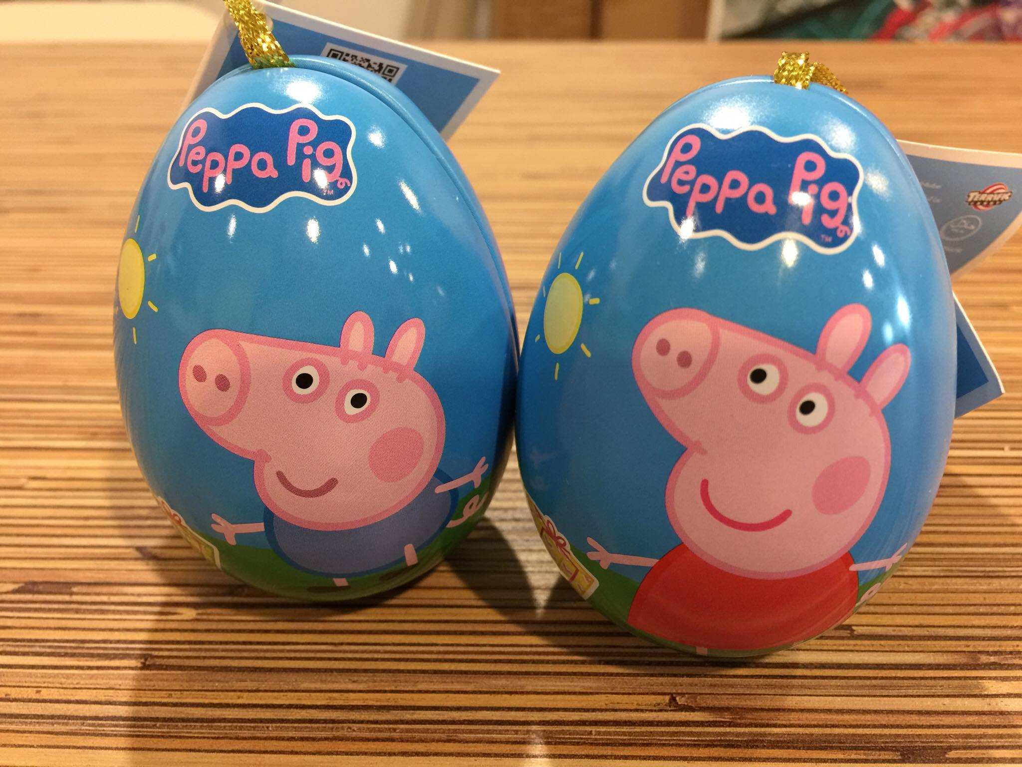 1 Peppa Pig Surprise Egg – Metal Casing Limited Edition
