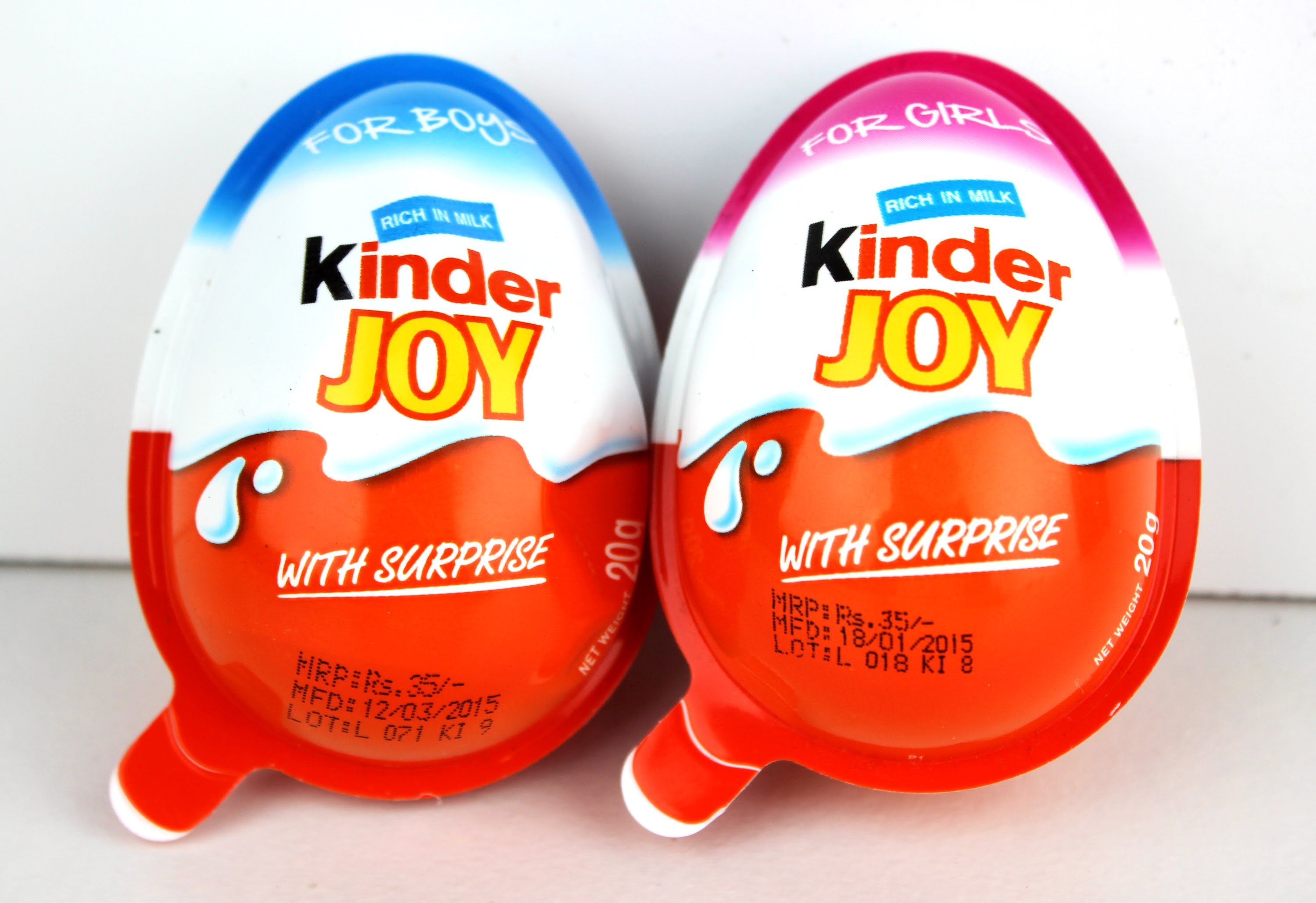 Kinder Joy Eggs (50pcs) - Surprise Eggs Malaysia