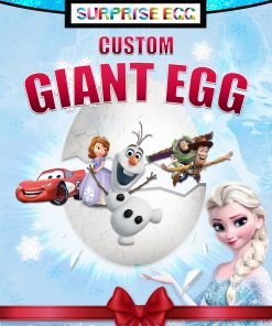 Custom Giant Surprise Egg